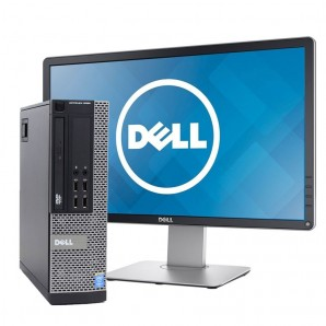 PC con Pantalla Dell 9020 I7/3.2Ghz/8GB/500 HD/DVD/W7/24""