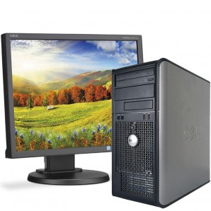 Pc con Pantalla Dell 380 C2Quad 2.6/4GB/250HD/w7/19""