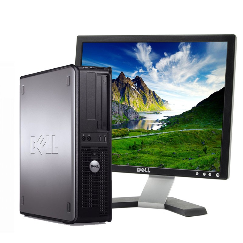 Pc con Pantalla Dell 380 DC 2.9GHz/4GB/250HD/DVD/W7/17""