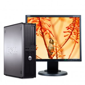 Pc con Pantalla Dell 380 DC 2.9GHz/4GB/250HD/DVD/W7/19""