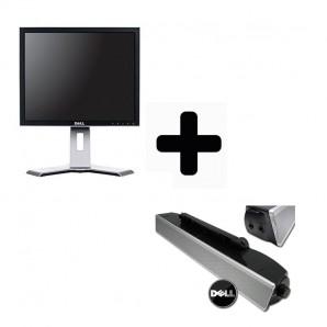 """Monitor Dell 19"""" con Barra de Sonido incluida"""