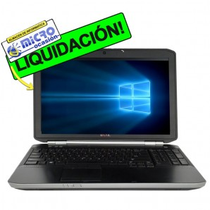 "Dell 5520 i3 |4GB|250 HD|WEBCAM|15""|W10"